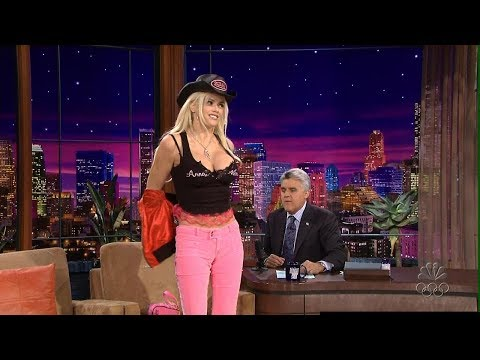 Anna Nicole Smith The Tonight  with Jay Leno