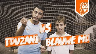 TOUZANI VS. BLAUWE MO – VOETBAL SKILL BATTLE!