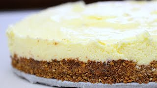 White Chocolate Cheesecake - No Bake