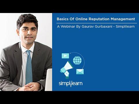 Basics Of Online Reputation Management | Simplilearn Webinar