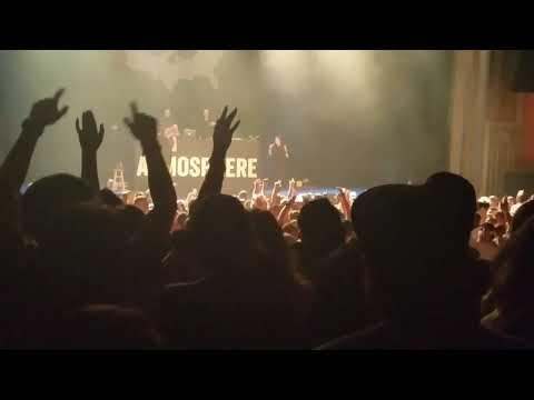 Slug of Atmosphere invites fan to rap Sound is Vibration.