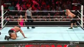 John Cena vs Rusev - Campeonato EEUU. RAW 13/07/15