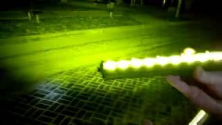 Мощнейшие LED противотуманки ( переделка ) сравнение с оригиналом.