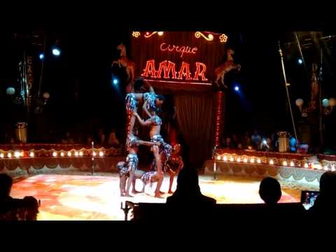 ACROBATS -MIGHTY BLACK ANGELS -PYRAMIDS AND LIMBO SHOW