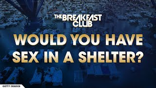 Would You Have Sex In A Hurricane Shelter?