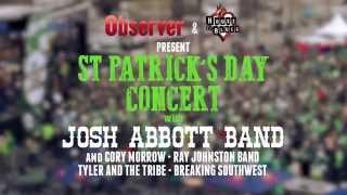 Dallas Observer St. Patrick's Day Concert ft. Josh Abbott Band