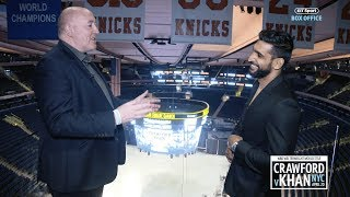 We took Amir Khan on a behind-the-scenes tour of the iconic MSG arena
