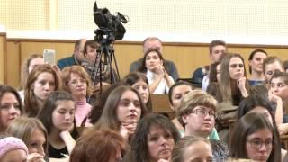 лекция-консультация по олимпиаде «Ломоносов» по направлению «Журналистика»