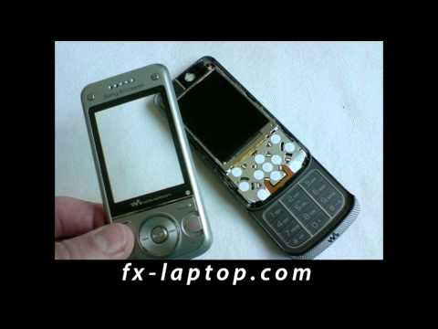 Disassembly Sony Ericsson W760i - Battery Glass Screen Replacement