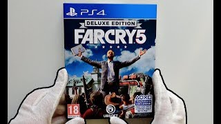 Far Cry 5 DELUXE EDITION Unboxing!