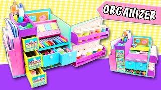 🚨 𝗗𝗜𝗬 𝗗𝗘𝗦𝗞𝗧𝗢𝗣 𝗢𝗥𝗚𝗔𝗡𝗜𝗭𝗘𝗥 😱 Back to school (#𝟮𝟬𝟭𝟵#) ❣️ aPasos Crafts DIY ❣️