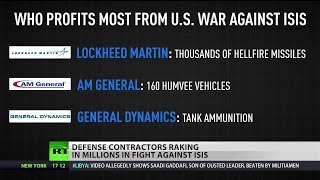 Military contractors making a killing off US-ISIS battle