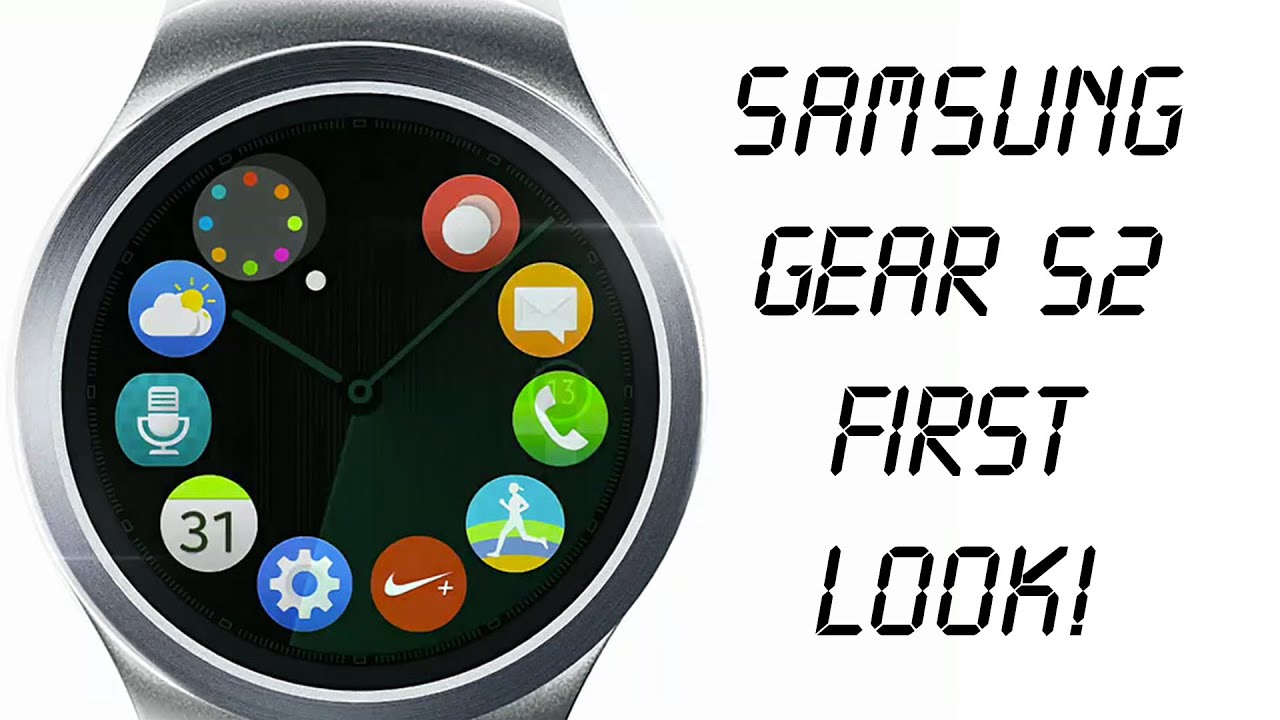 Samsung (Galaxy) Gear S2 FIRST LOOK