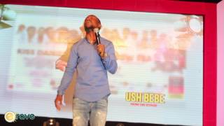 Ushbebe Funny Moments at Kiss Daniel39s Album Launch Concert