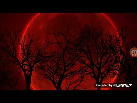 SUPER BLOOD MOON DREAM AND JESUS COMING DOWN FROM HEAVEN VISION!!