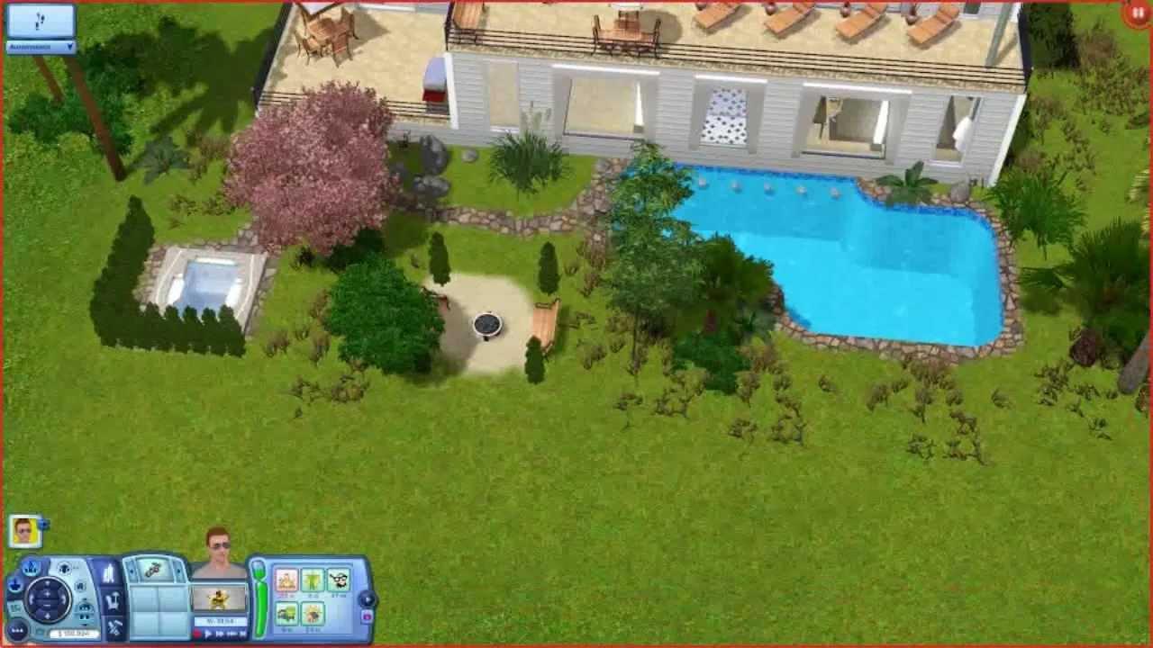 Sims 3 Modern Beach House Building A House HD YouTube