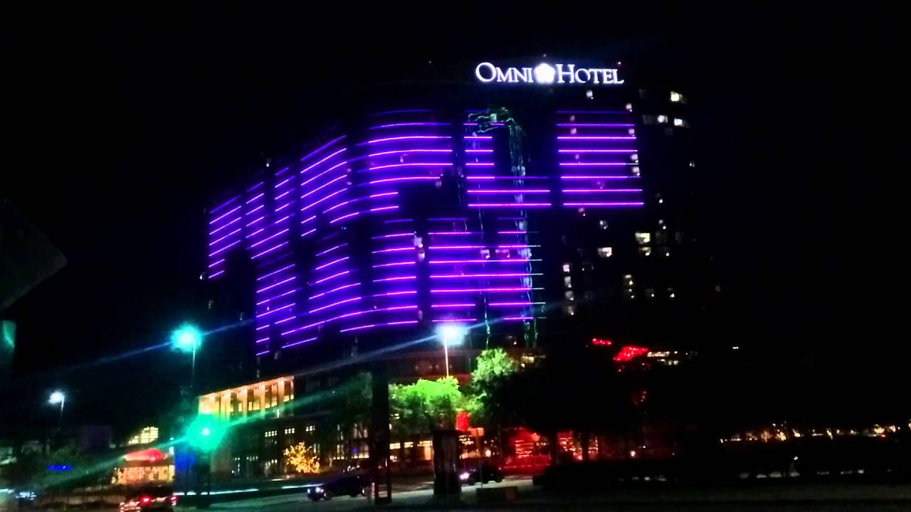 purple rain on the omni hotel dallas youtube. Black Bedroom Furniture Sets. Home Design Ideas