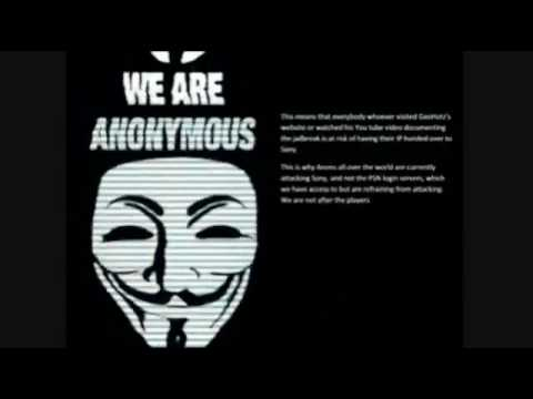 ANONYMOUS HACKING PS3 DOWN APRIL/MAY 2011 ERROR CODE 80710A06