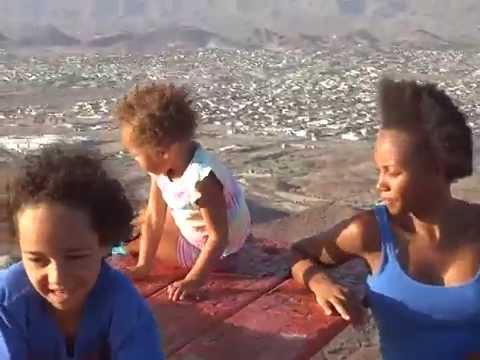Raw Super Powers Demonstration: Haeske Family at Top of Lizard Peak in Arizona