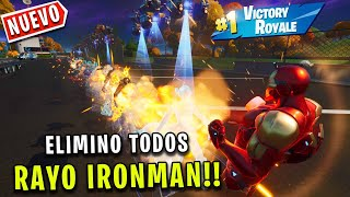 ELIMINO A TODOS con el RAYO de IRON MAN en FORTNITE - JorgeIsaac115