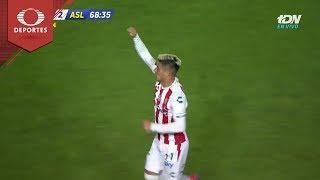Doblete de Brian Fernández | Necaxa 2 - 2 Atlético | Copa MX J6 Cl19 | Televisa Deportes