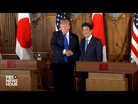 WATCH: President Trump, Japan Prime Minister Abe joint news conference