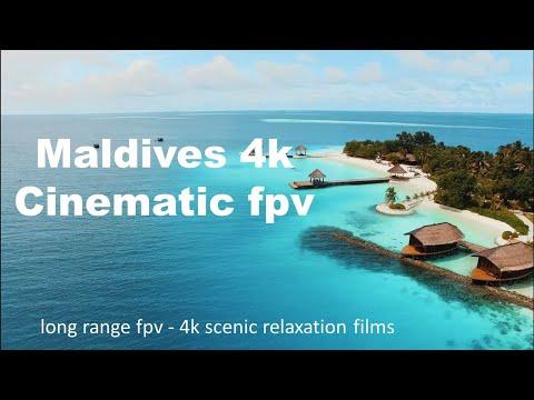 Фото MALDIVES 4K - Cinematic fpv | Long Range fpv - Scenic Relaxation Film With Calming piano Music
