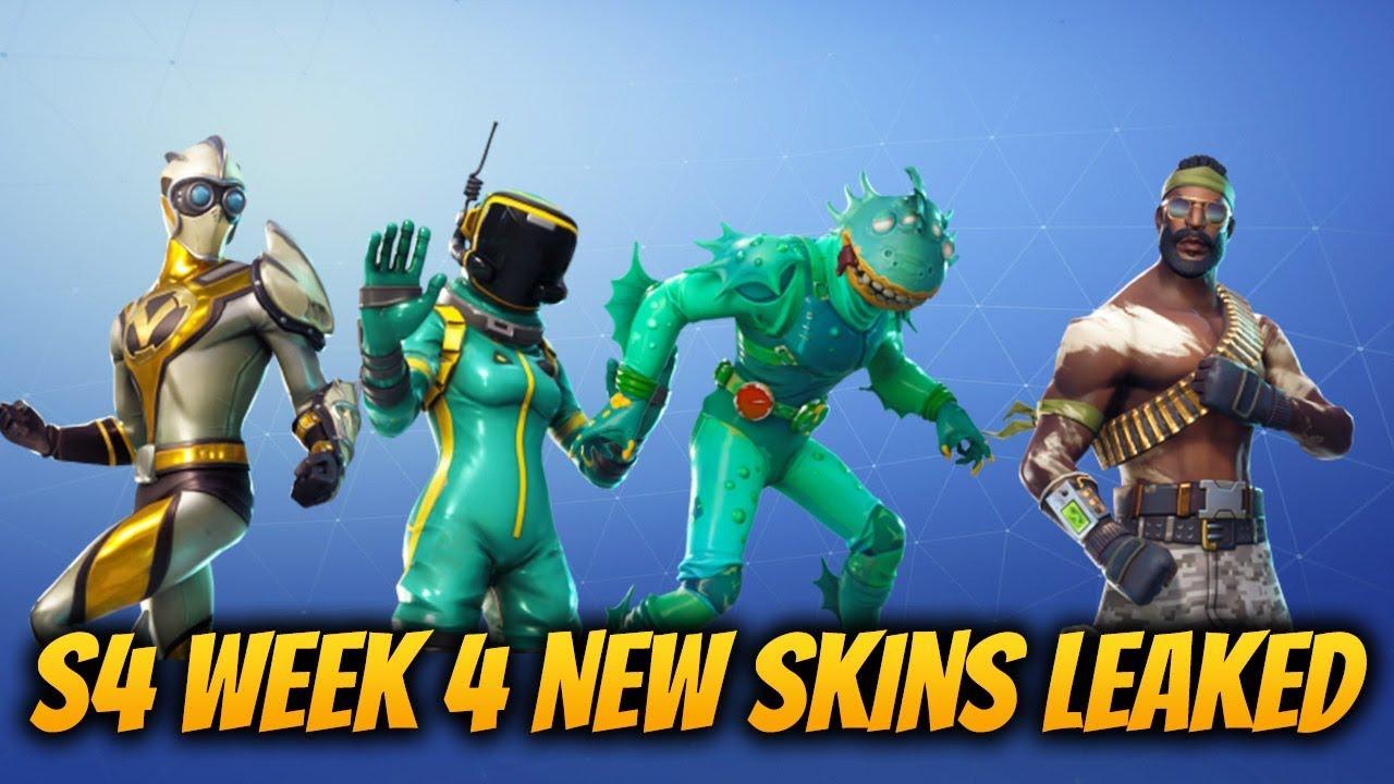 New Fortnite Skins Leaked! Venturion, Moisty Merman, Toxic Trooper, Hazard  Agent And Bandolier