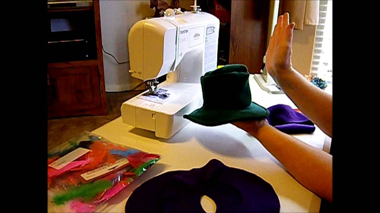 2c2263c6fd1 How to Make a Doll Cowboy Hat Pt. 1 - YouTube