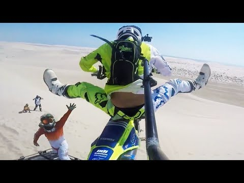 Desert Dirtbikes - Riding The Dunes [TULE - Fearless]