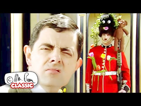Mr Bean and the Royal GUARD | Mr Bean Funny Clips | Classic Mr Bean