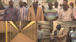 KEJETIA MARKET HAS BEEN COMPLETED - OTUMFUO INSPECTS!