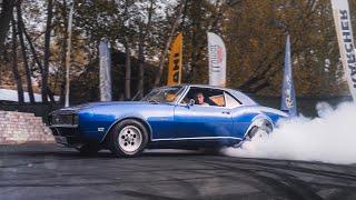 Пожиратель резины! Дикий обзор Camaro RS/SS 1968. Культовый пони-кар на дорогах России