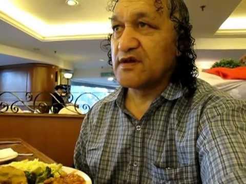 Malaysian Breakfast in the Summit Hotel, Kuala Lumpur