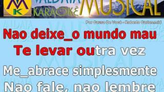 Por Causa De Você Roberto Carlos Karaoke