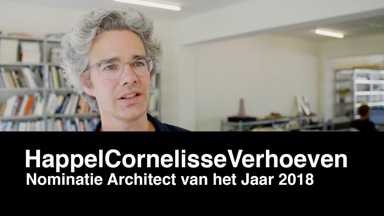Architectenweb – Architect van het Jaar verkiezing 2018 – HappelCornelisseVerhoeven