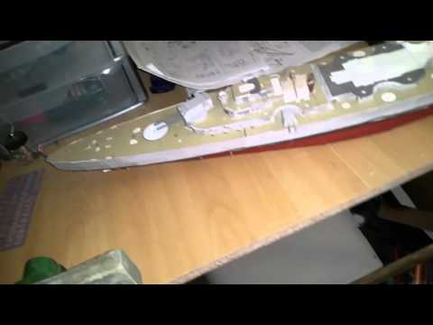Papercraft Bismarck Paper Model and Paper Modelling