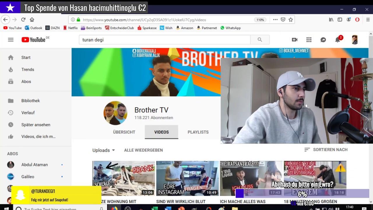 Realtalk über Fake Pranks - Turan Degi - YouTube