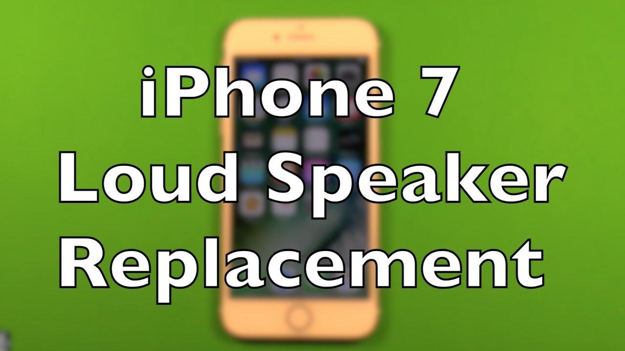 iPhone 9 Loud Speaker Replacement Repair How To Change