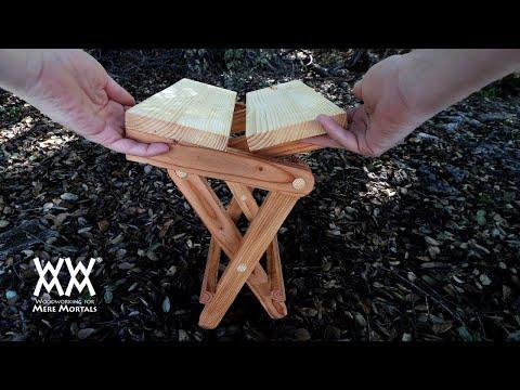 Folding Campfire Seat