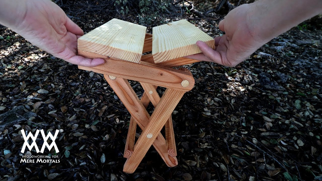 KNOW When To FOLD/'M  Set Of 4 Solid Wood Folding Chairs  Possibly Maple  Great Extra Seating