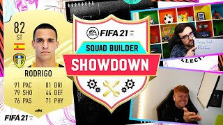 INCREDIBLE DOUBLE GUESS!! BEAST STRIKER RODRIGO! SQUAD BUILDER SHOWDOWN - FIFA 21 ULTIMATE TEAM