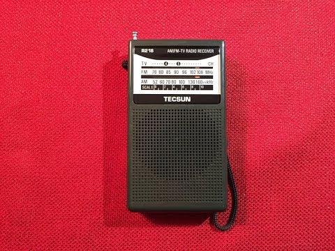 Radio Waves #16: Quality! Tecsun R-218 FM / AM Handheld Radio Review