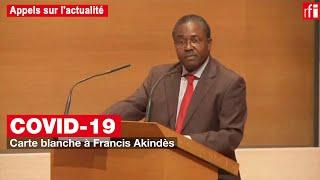Covid-19 : carte blanche à Francis Akindès