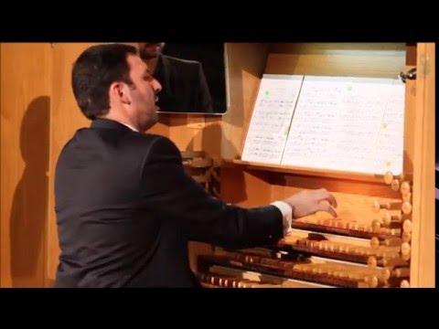 Lefébure-Wély: Bolero de Concierto. Palau de la Música de Valencia. Arturo Barba, órgano