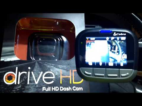 Cobra Drive HD CDR855BT Bluetooth Accessible (Part 2)