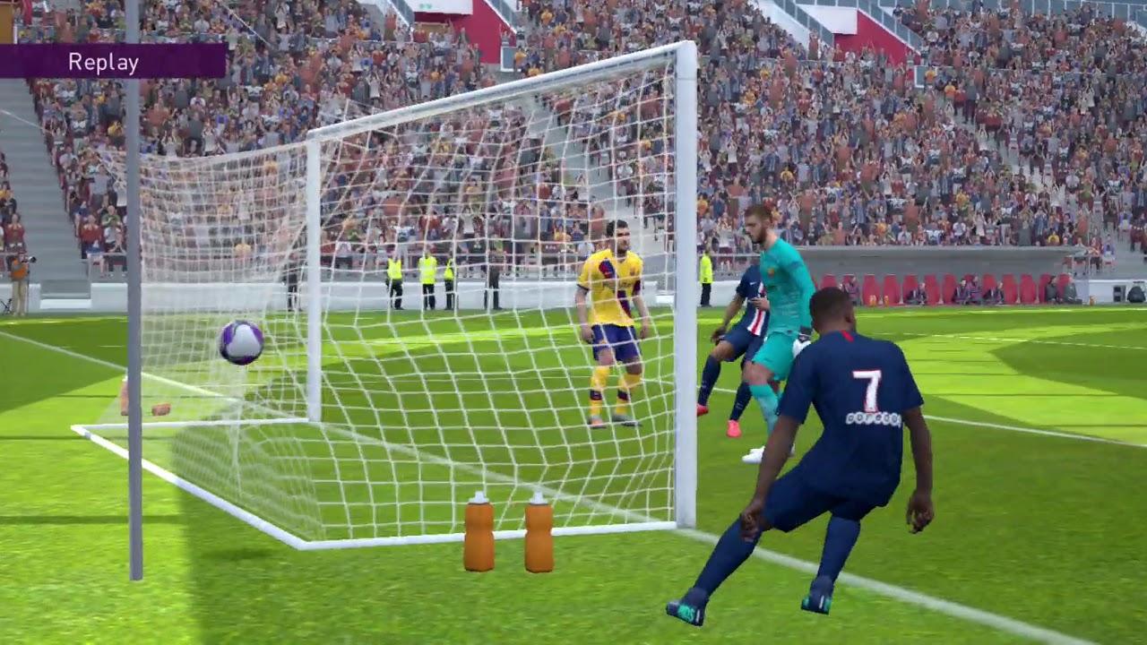 Barcelona vs PSG - eFootball PES 2020 mobile #konami #2 ...