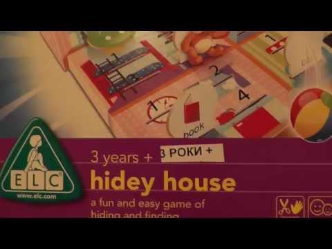 Настольная игра Найди и спрячь ELC (hidey house) 135643
