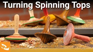 Gambar cover Turning Spinning Tops (Inspiration Series)
