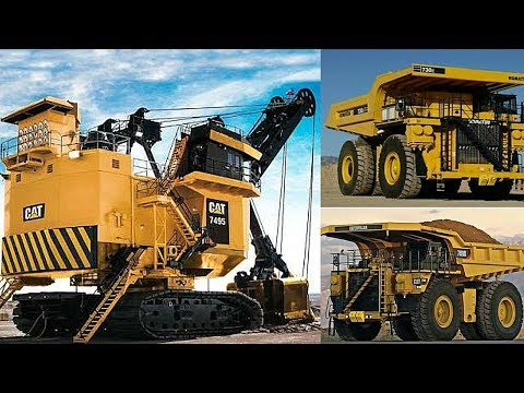 SECL Gevra Opencast Mines Working  Shovel ( 42 Cubic Meter ) and Dumper ( 240 ton) Combination......